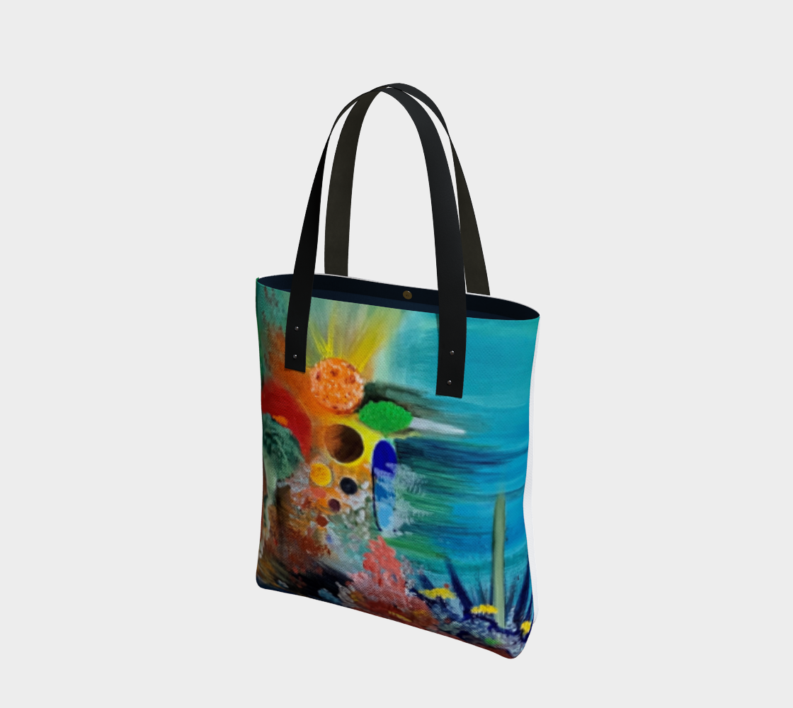 Peace Underwater Tote by Abby Needler preview