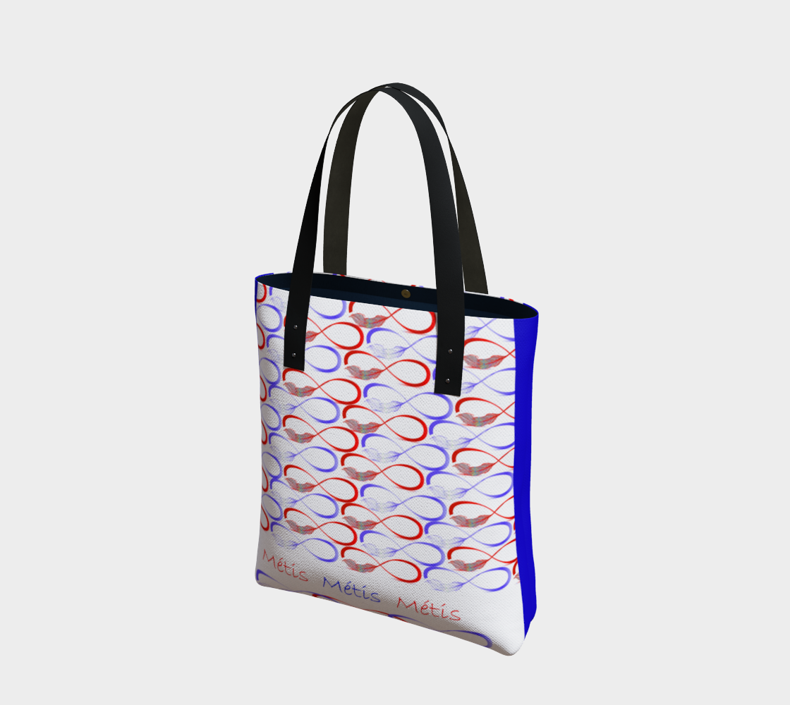 Red and Blue Feather Tote preview