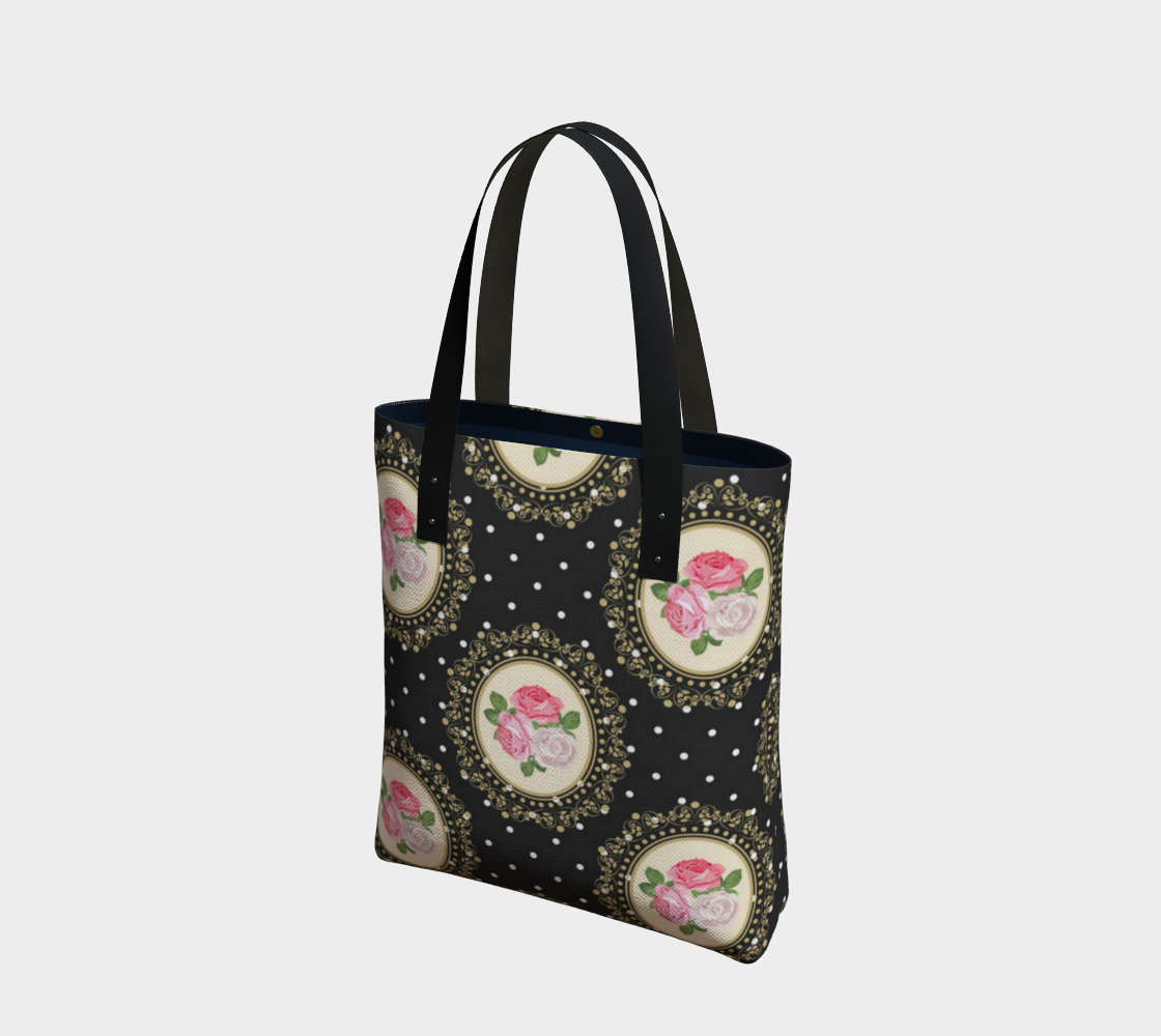 Cute Vintage Style Floral Tote preview