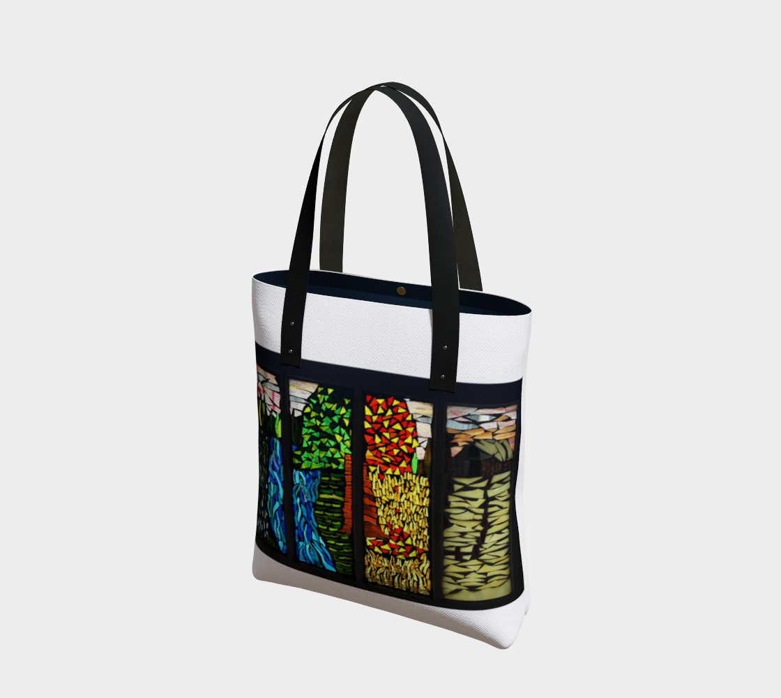 Marigold Mosaics Tote 1 by Nicole Staab Marigold preview