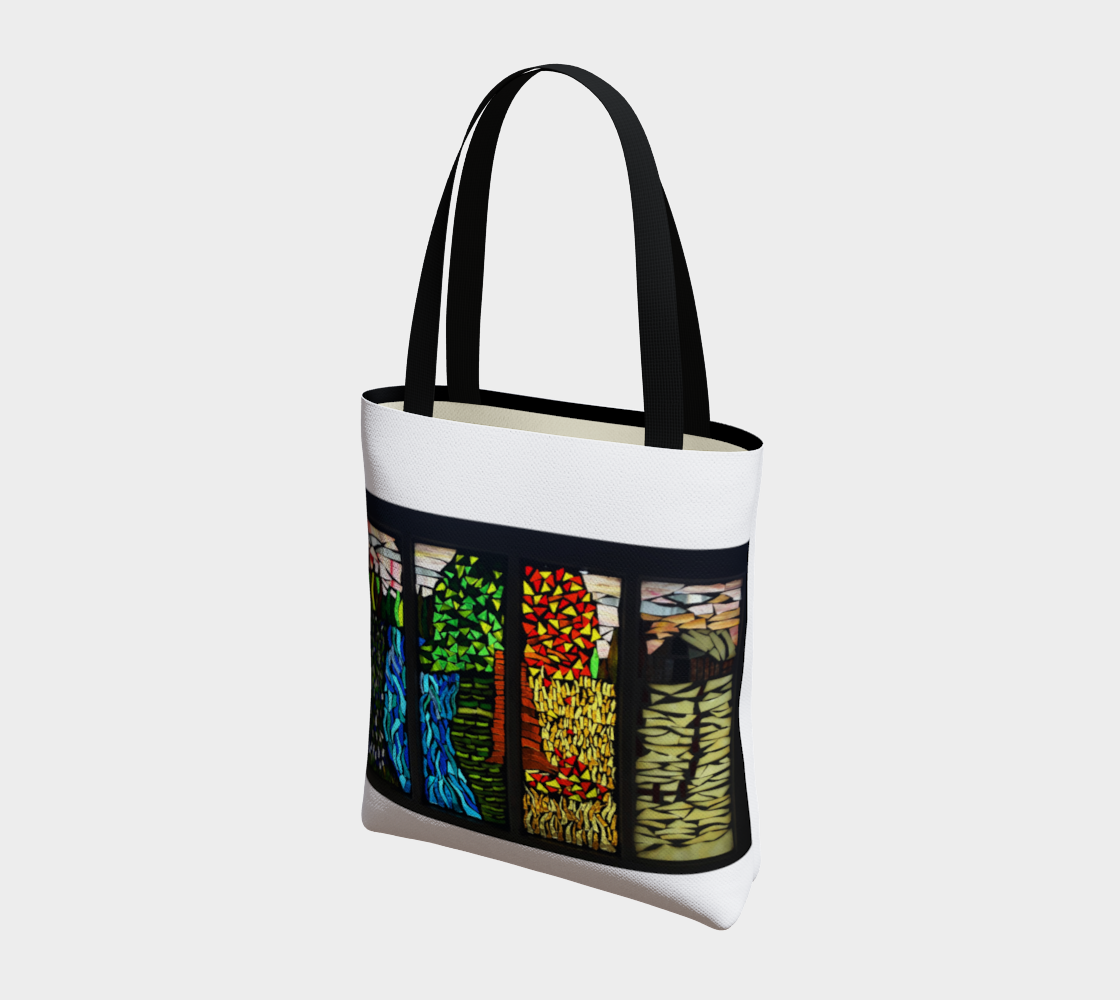 Marigold Mosaics Tote 1 by Nicole Staab Marigold preview #3