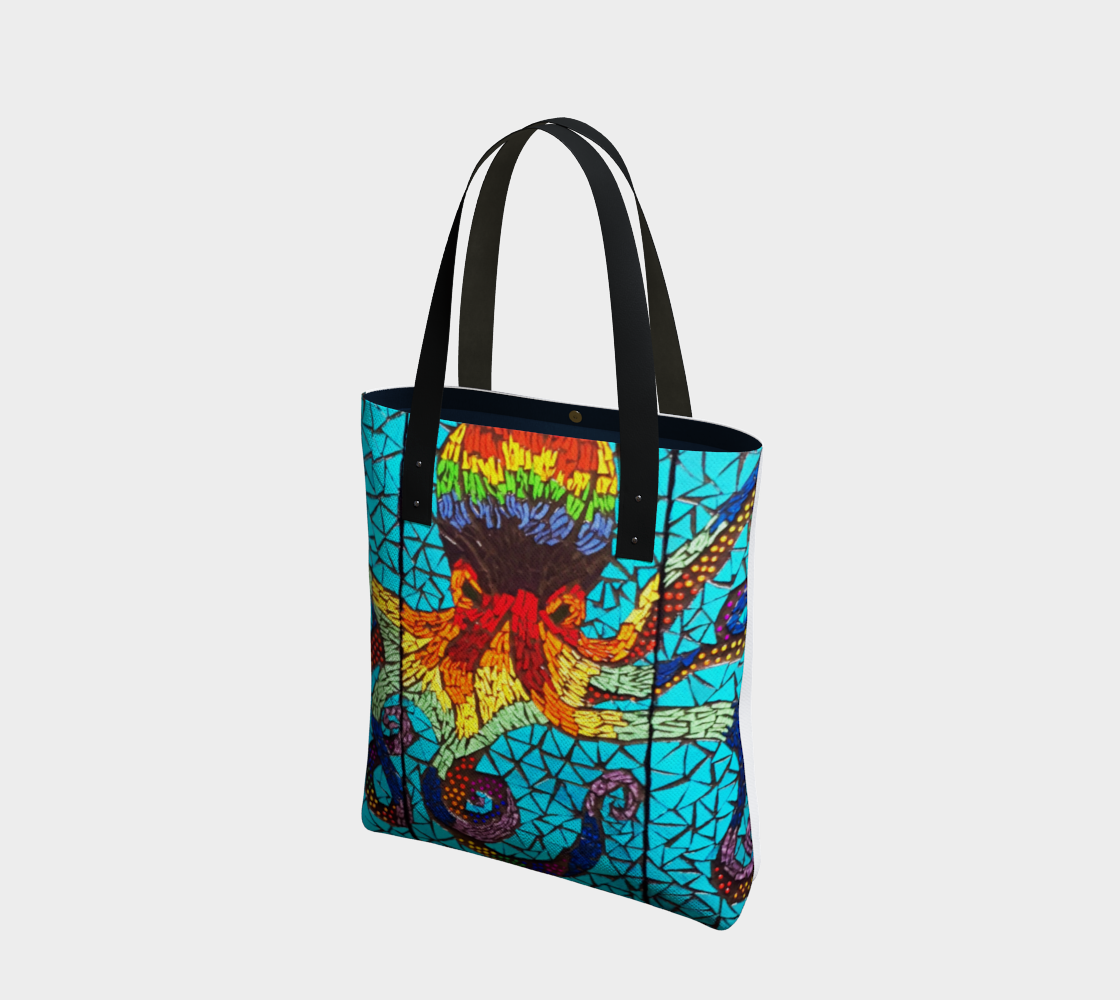 Marigold Mosaics Tote 2 by Nicole Staab Marigold preview