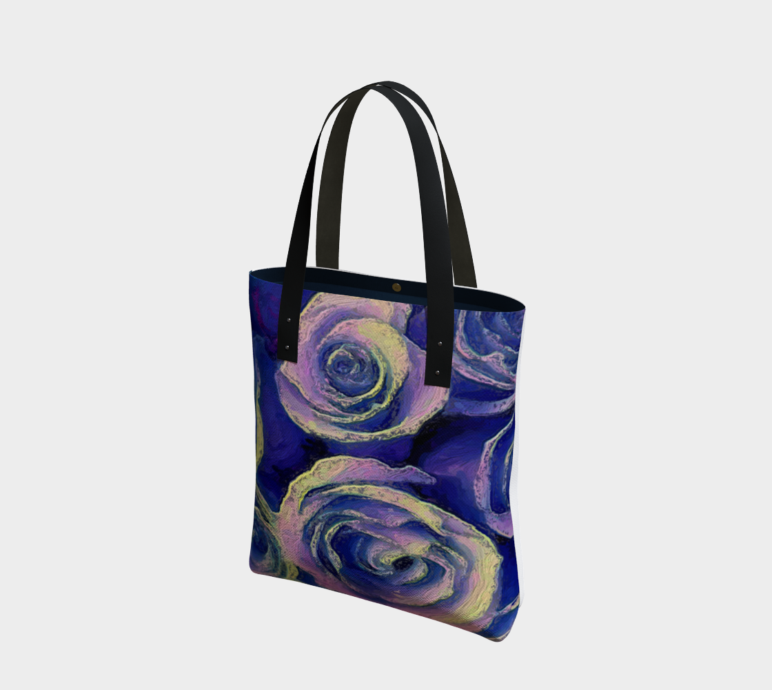 Purple Roses Tote by Bryan Bromstrup preview #1