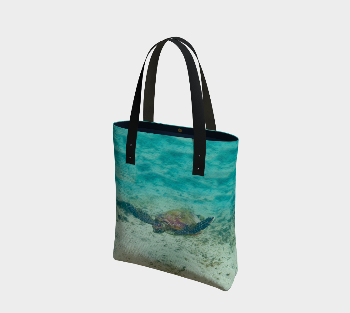 Galapagos Sea Turtle Tote preview