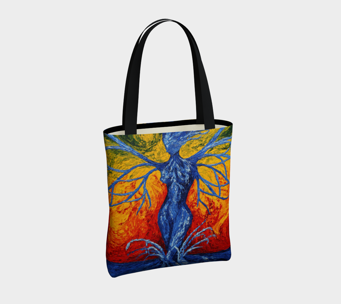 Badb Canvas tote preview #4