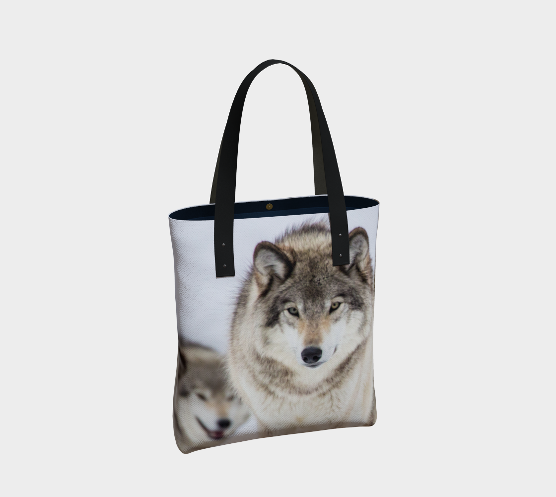 Wolf Tote Bag preview #2