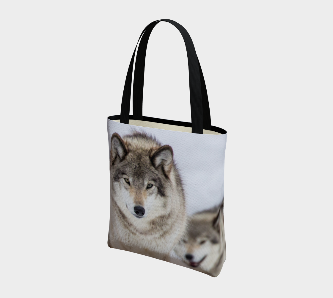 Wolf Tote Bag preview #3