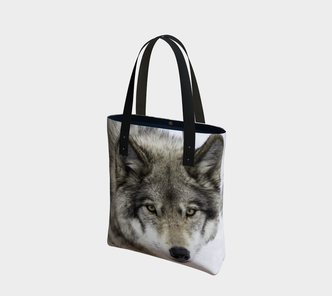 Wolf Eyes Tote Bag preview