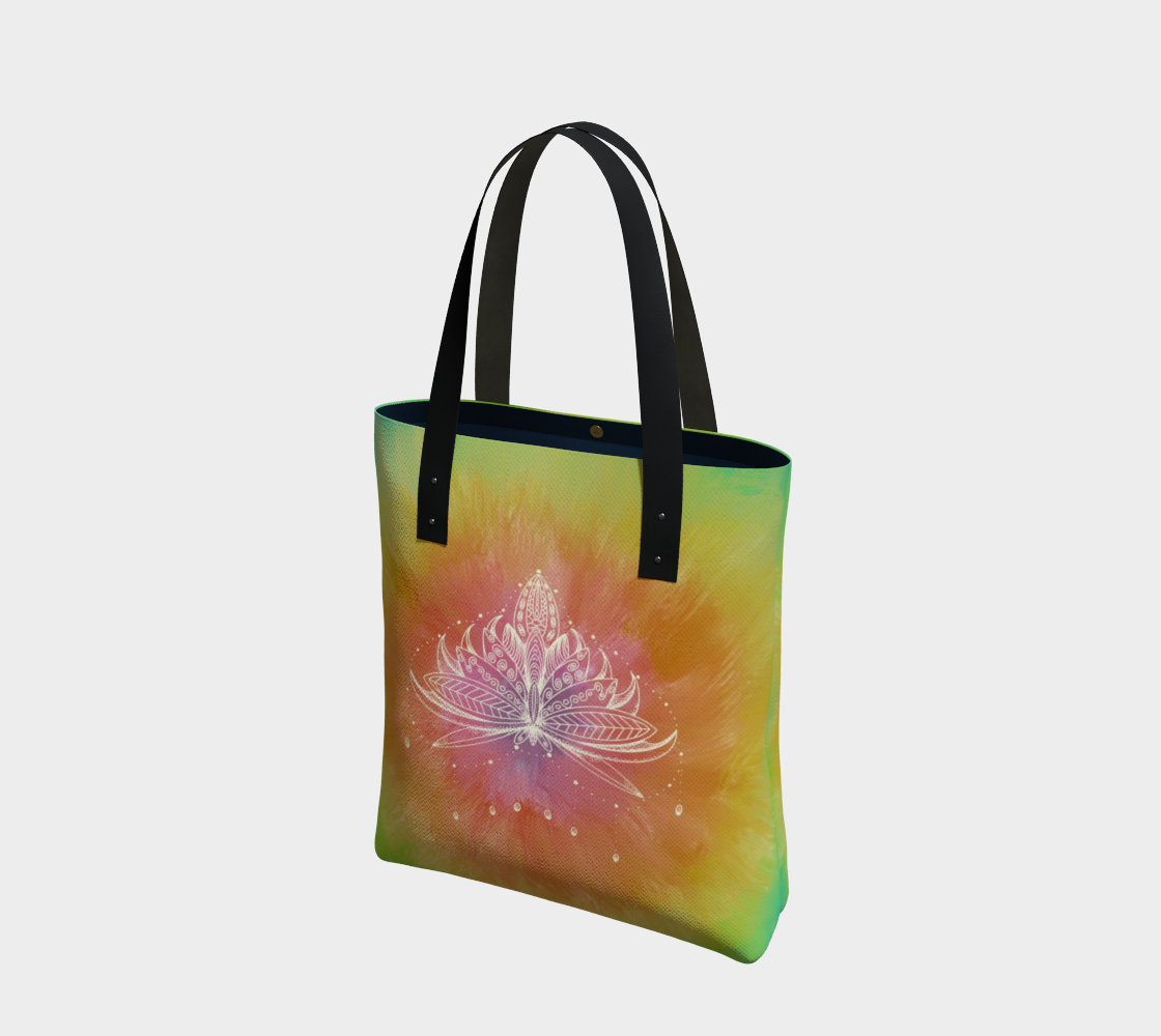Lotus in Bloom - Tote preview