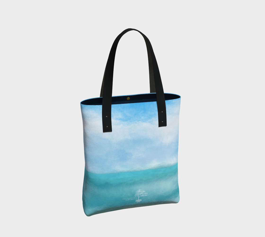 """Sail Away"" Beach Mandala Tote preview #2"