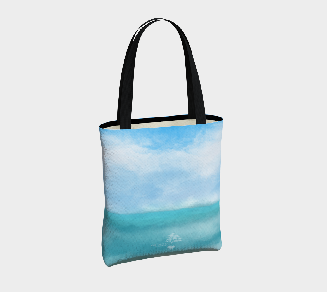 """Sail Away"" Beach Mandala Tote preview #4"