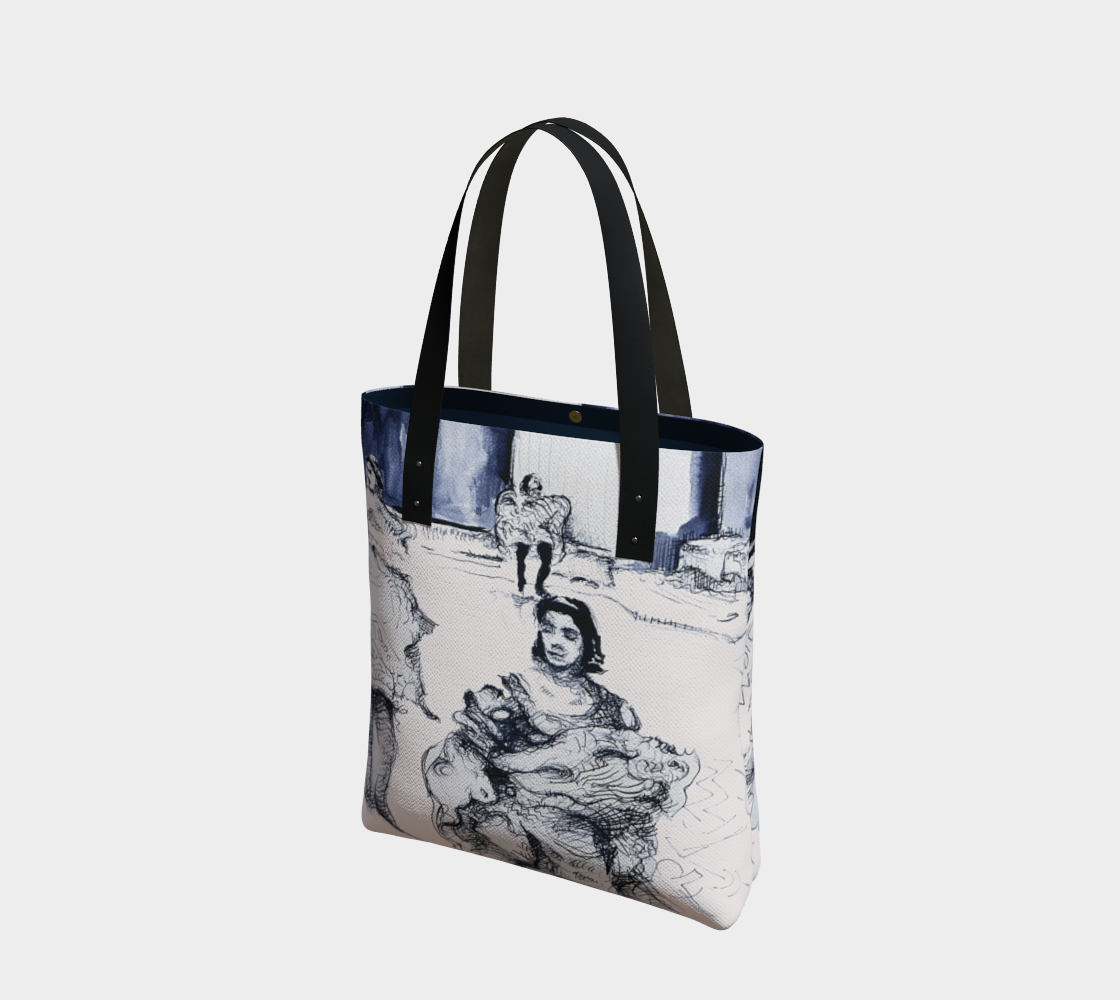 Place Blanche Can-Can Tote-Tote Bag preview