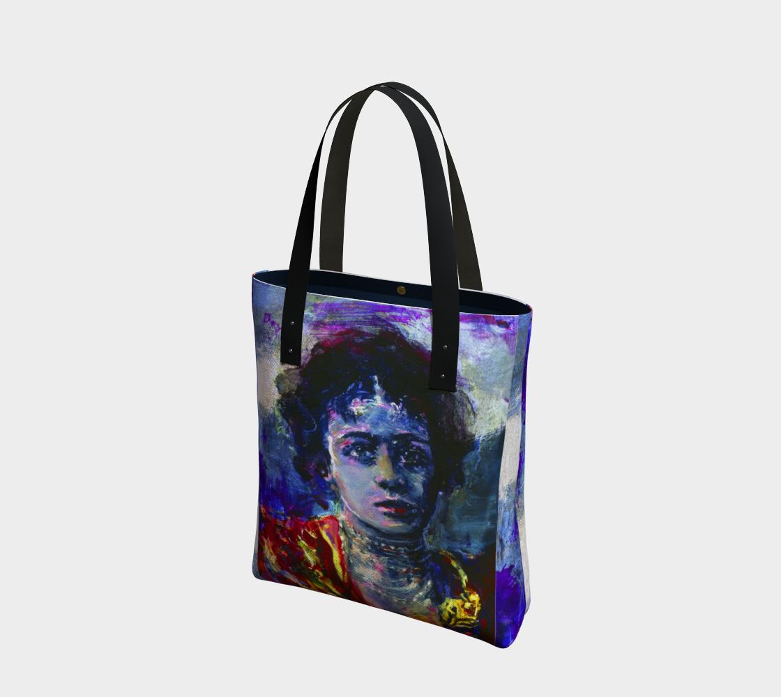 Donna-Kasha Fashion Warrior Tote bag preview
