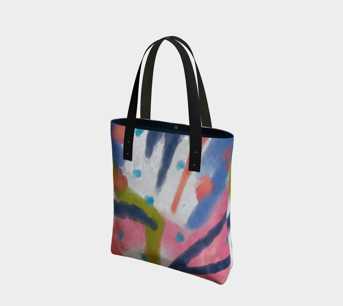 Funky Abstract Art Shoulder Bag preview