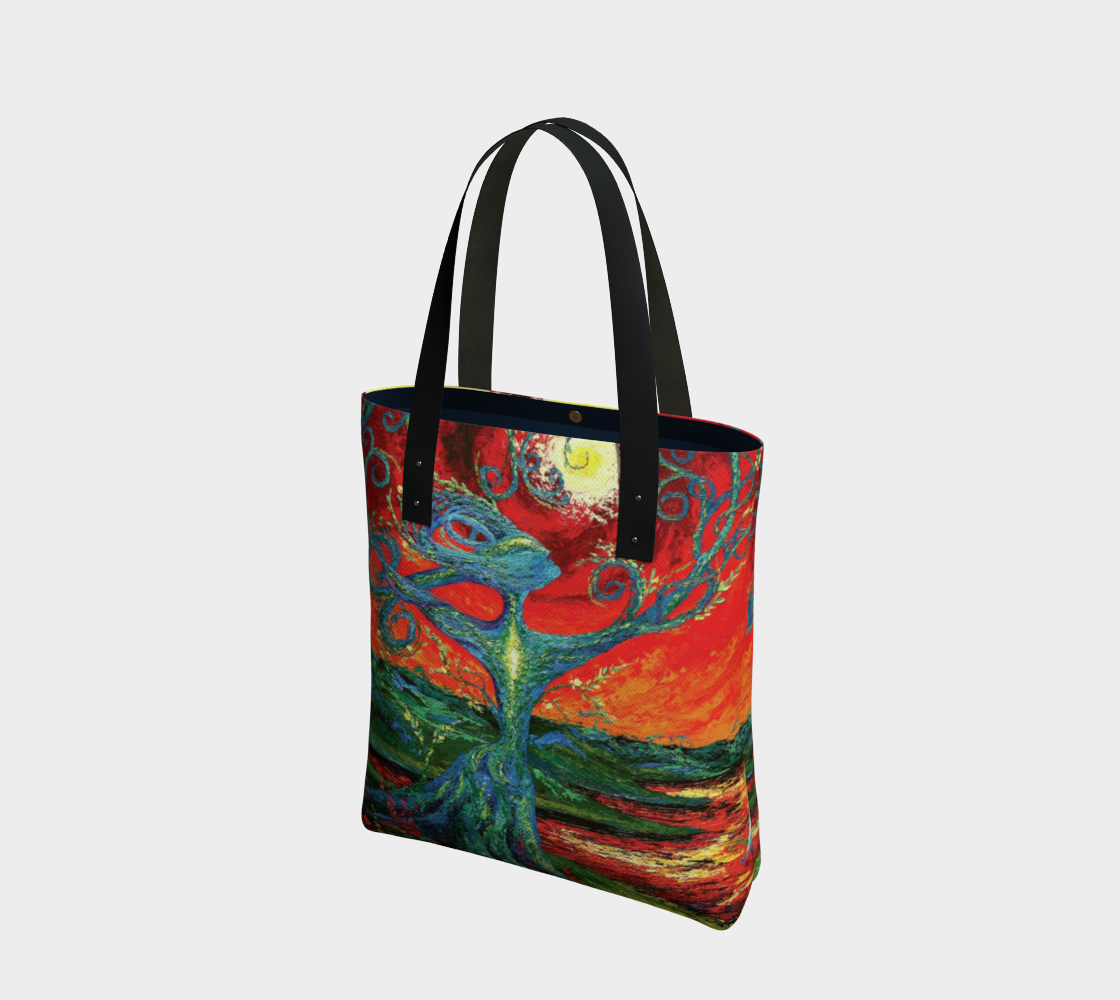Journey poly canvas tote preview