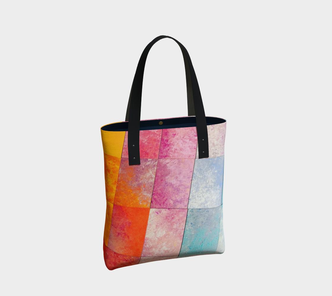 Aperçu de diagonal color blocks #2