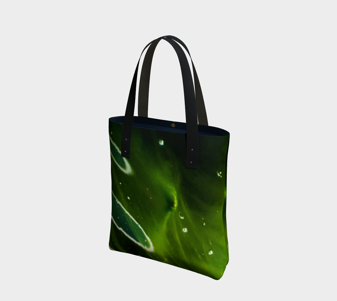 Green Algae and Water Tote Bag preview