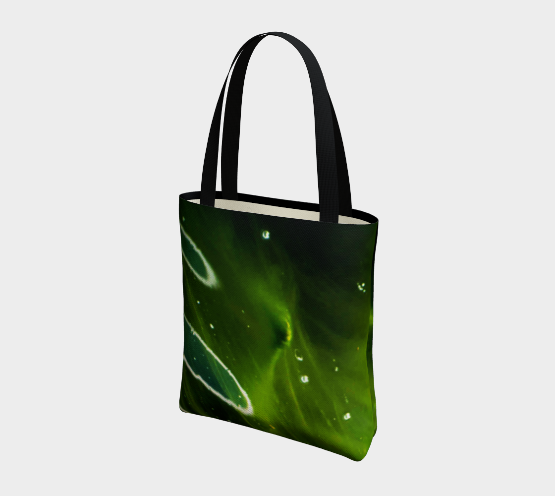 Green Algae and Water Tote Bag preview #3