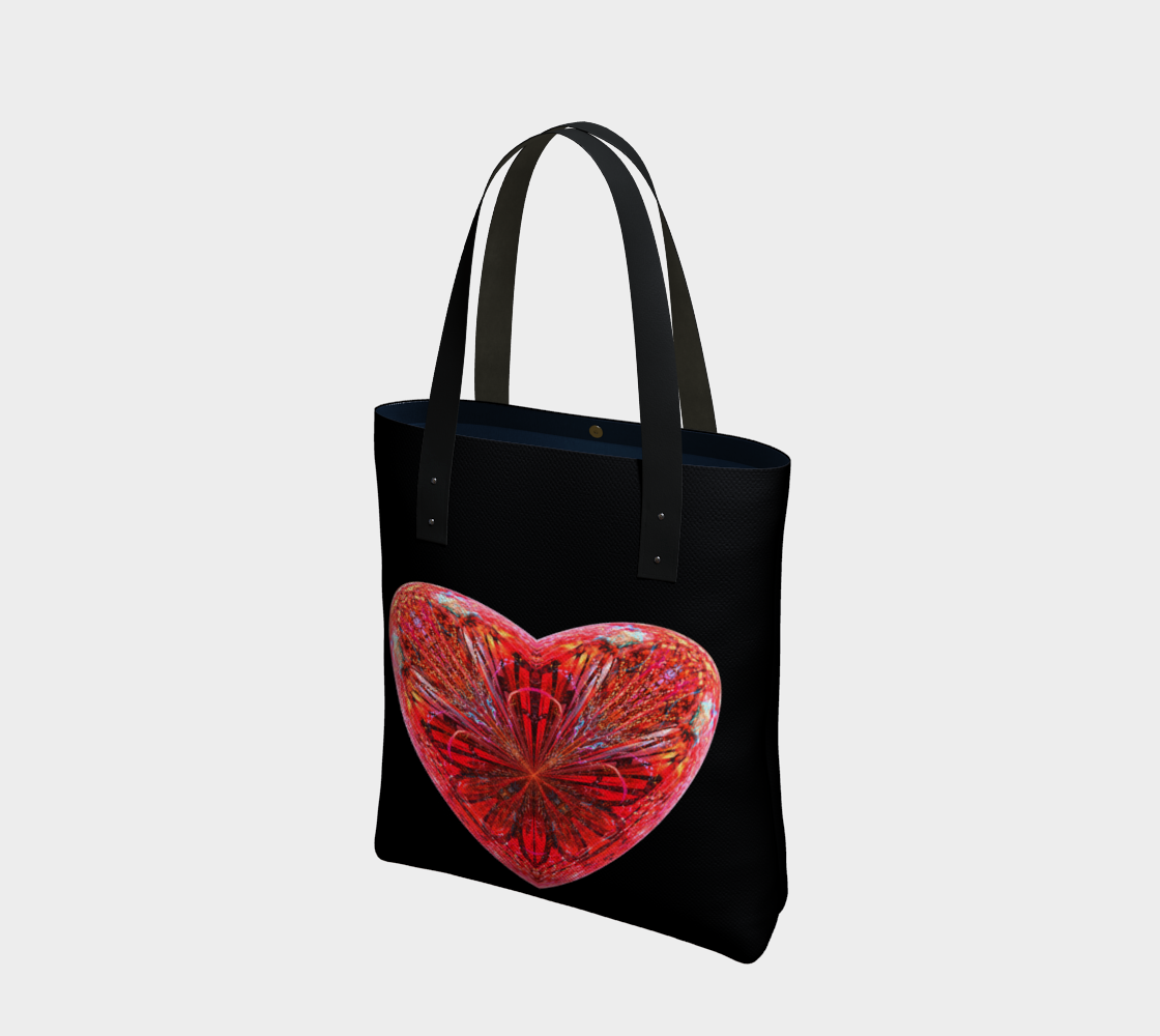 Full Heart Tote Bag preview