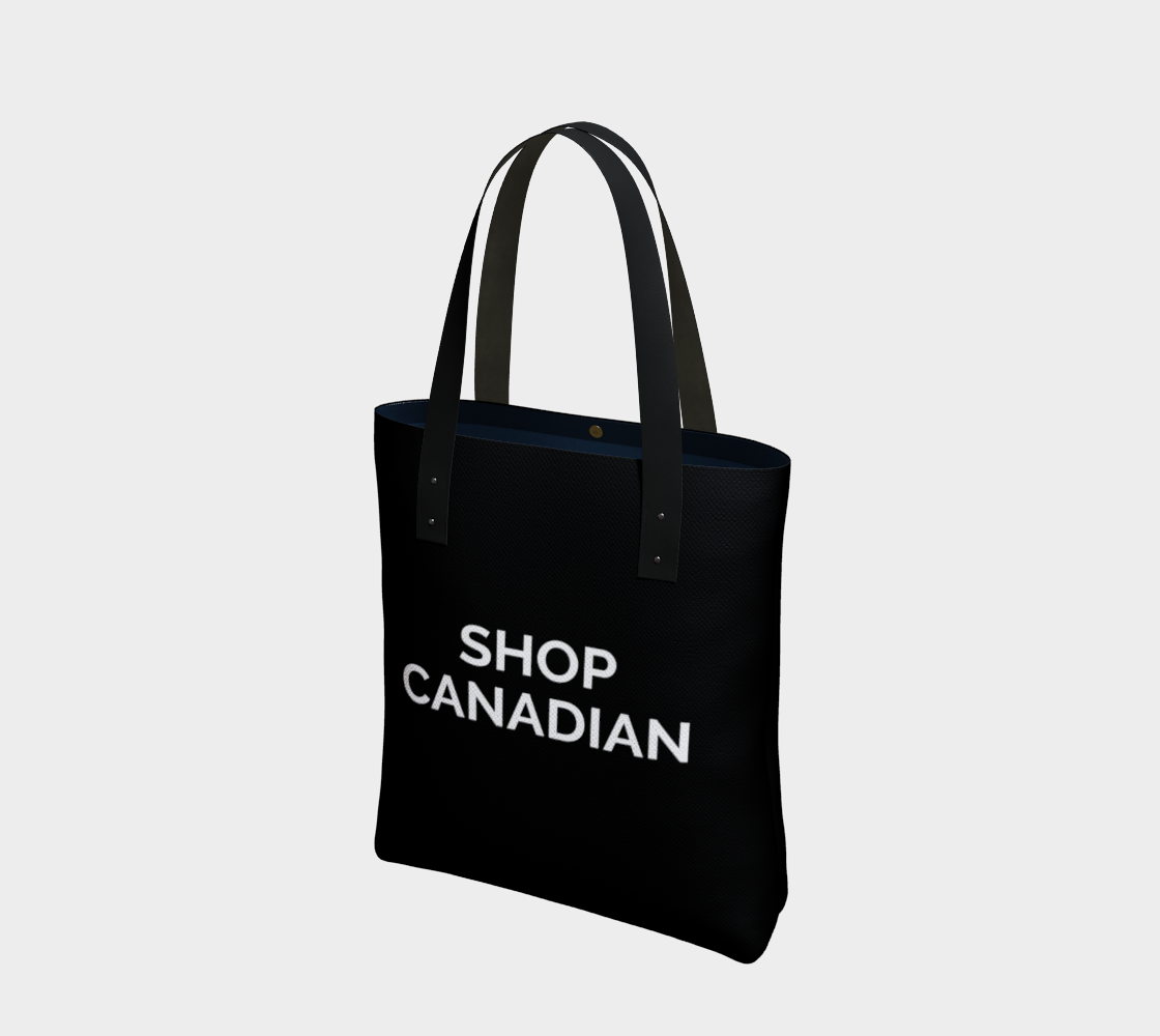 Shop Canadian - black background with white text preview