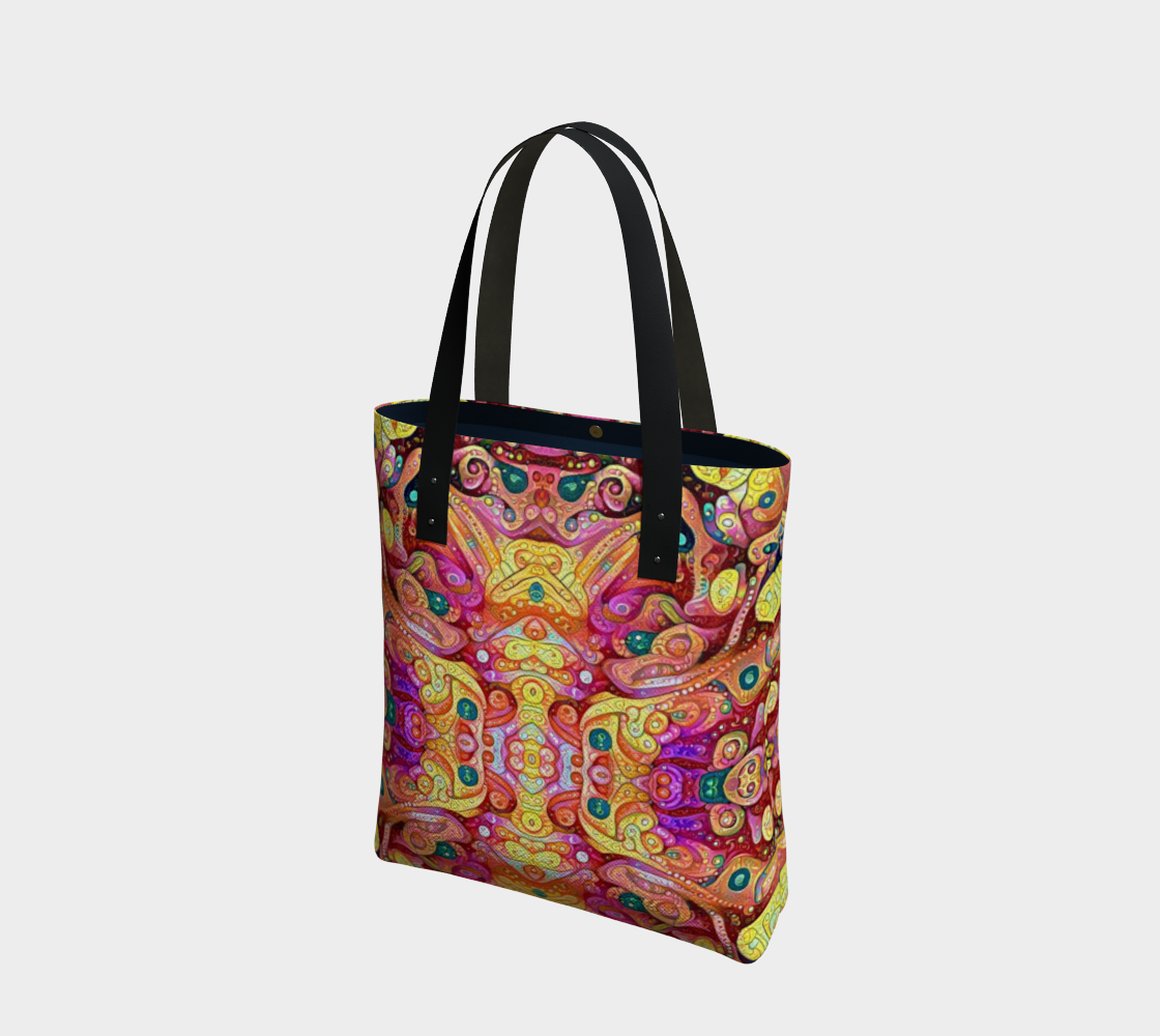 Morning Owl Tote Bag preview