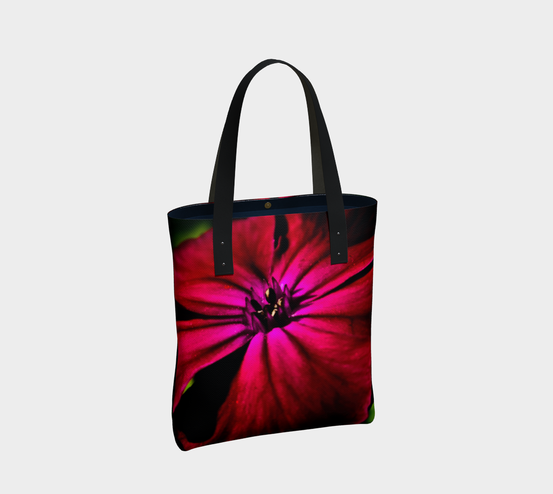 Purple Wild Flower Tote Bag preview #2