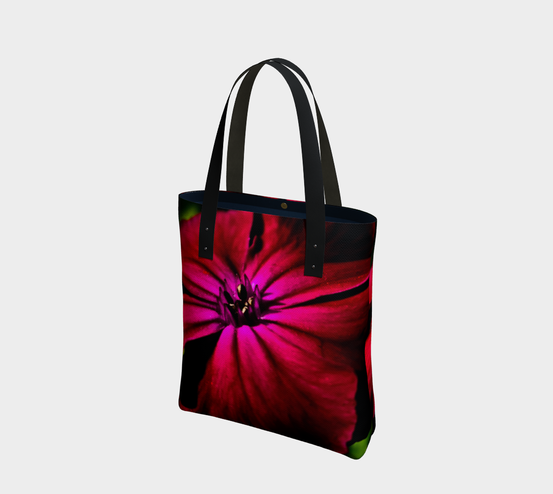 Purple Wild Flower Tote Bag preview