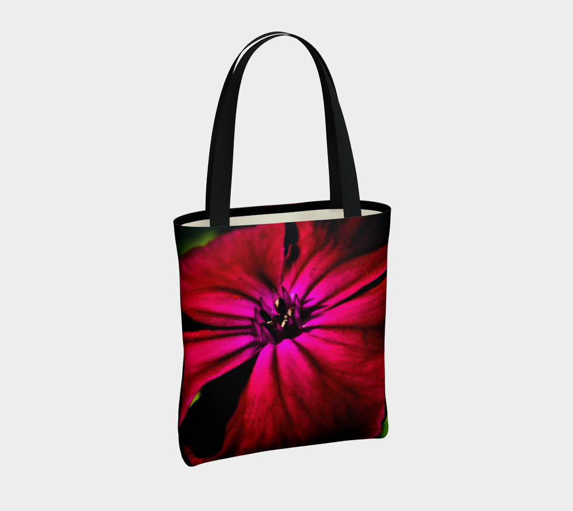 Purple Wild Flower Tote Bag preview #4