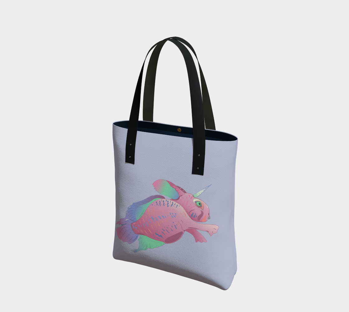 Sea Bunny w Text in Light Grey preview #1