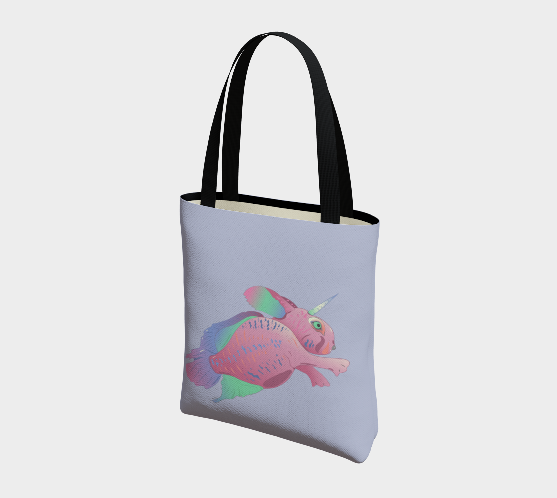 Sea Bunny w Text in Light Grey preview #3