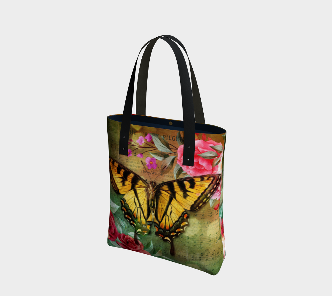 Dreamy Floral fantasy - butterfly preview
