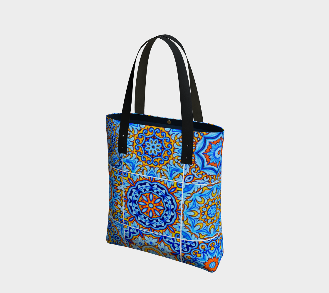 moroccan oriental tile pattern preview