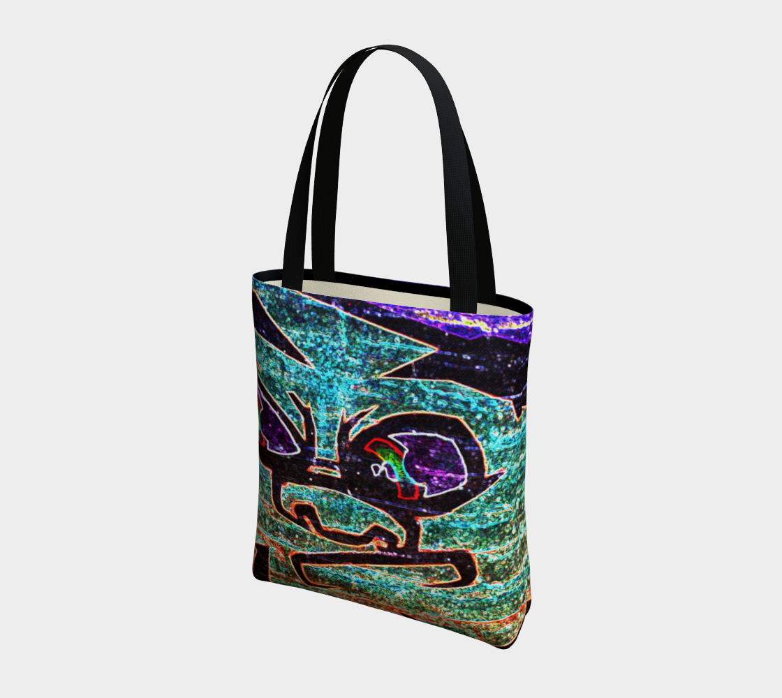Graffiti 7 Tote Bag preview #3