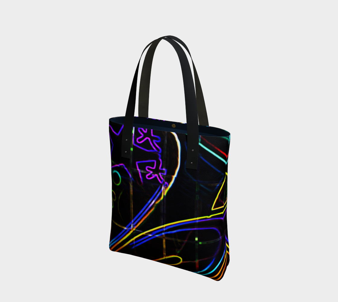 Graffiti 10 Tote Bag preview