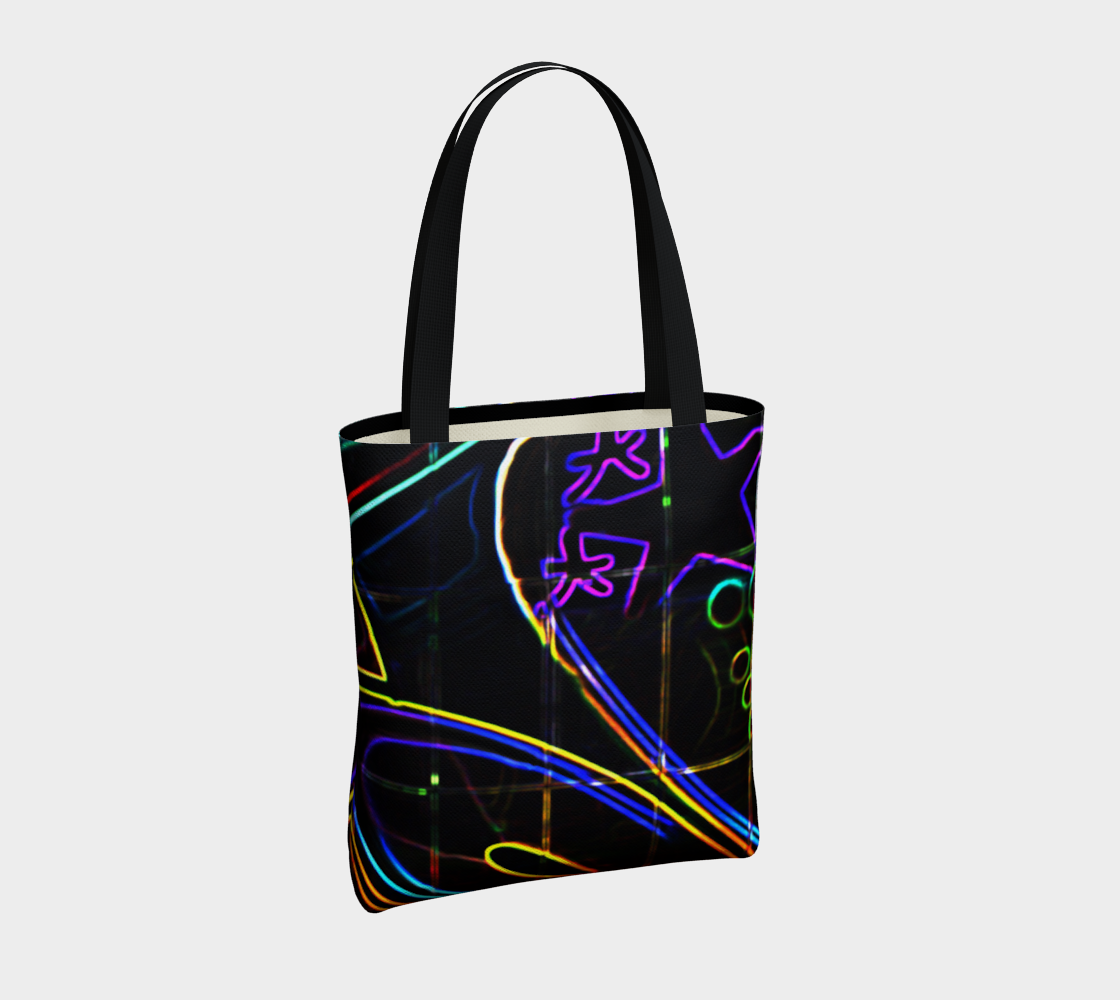 Graffiti 10 Tote Bag preview #4