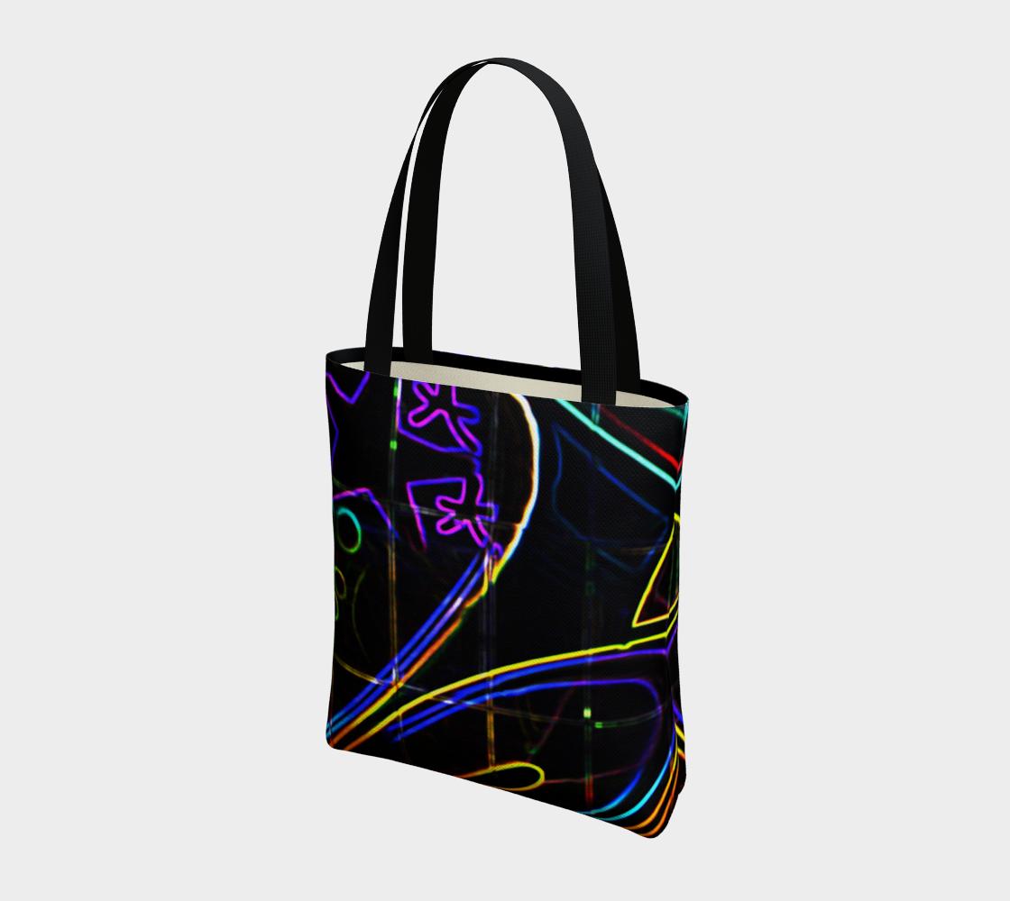 Graffiti 10 Tote Bag preview #3