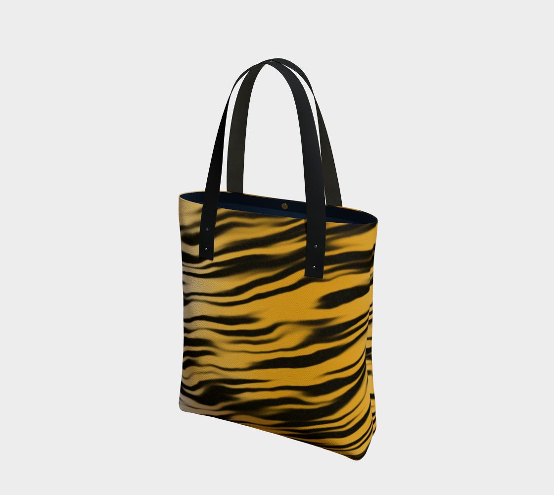 Aperçu de Tiger Stripes Tote Bag