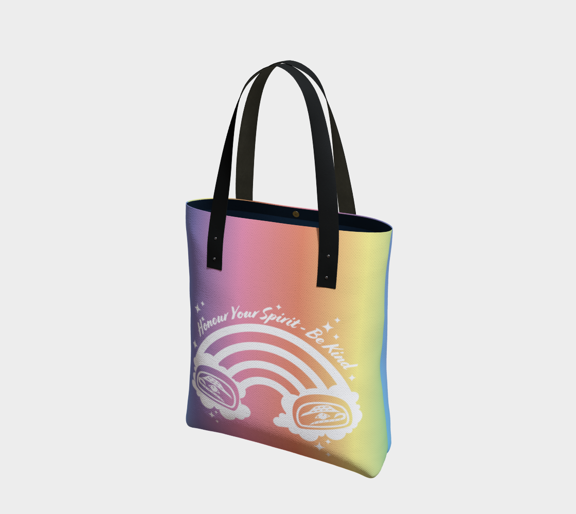 Be Kind Tote Rainbow preview