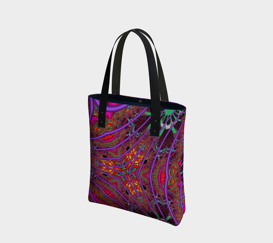 Aperçu de Wormhole Lace Tote Bag