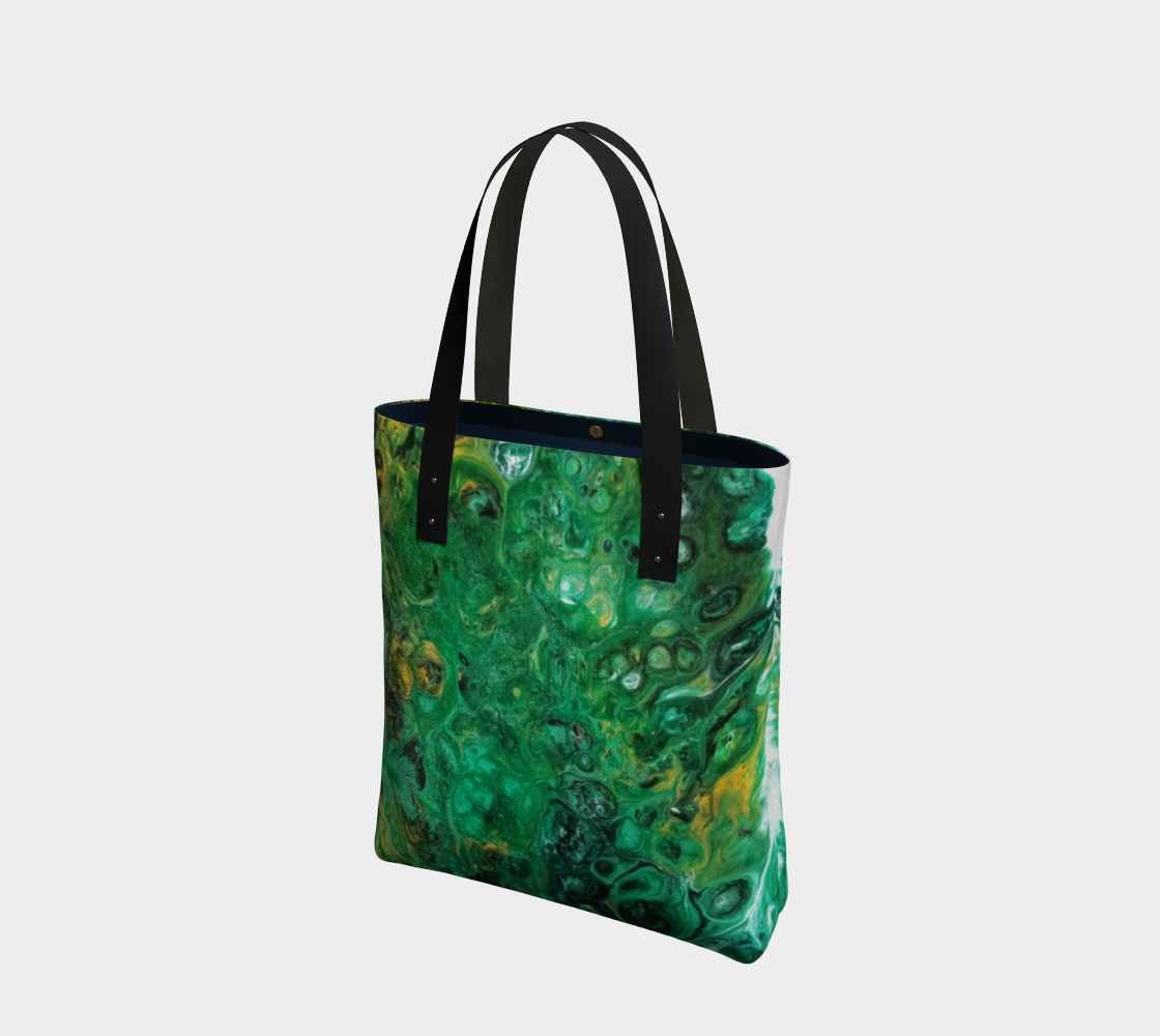 emerald river tote bag preview