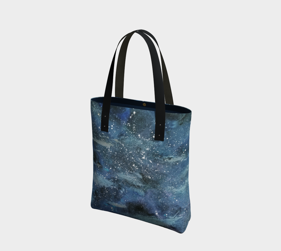 starry night tote bag preview