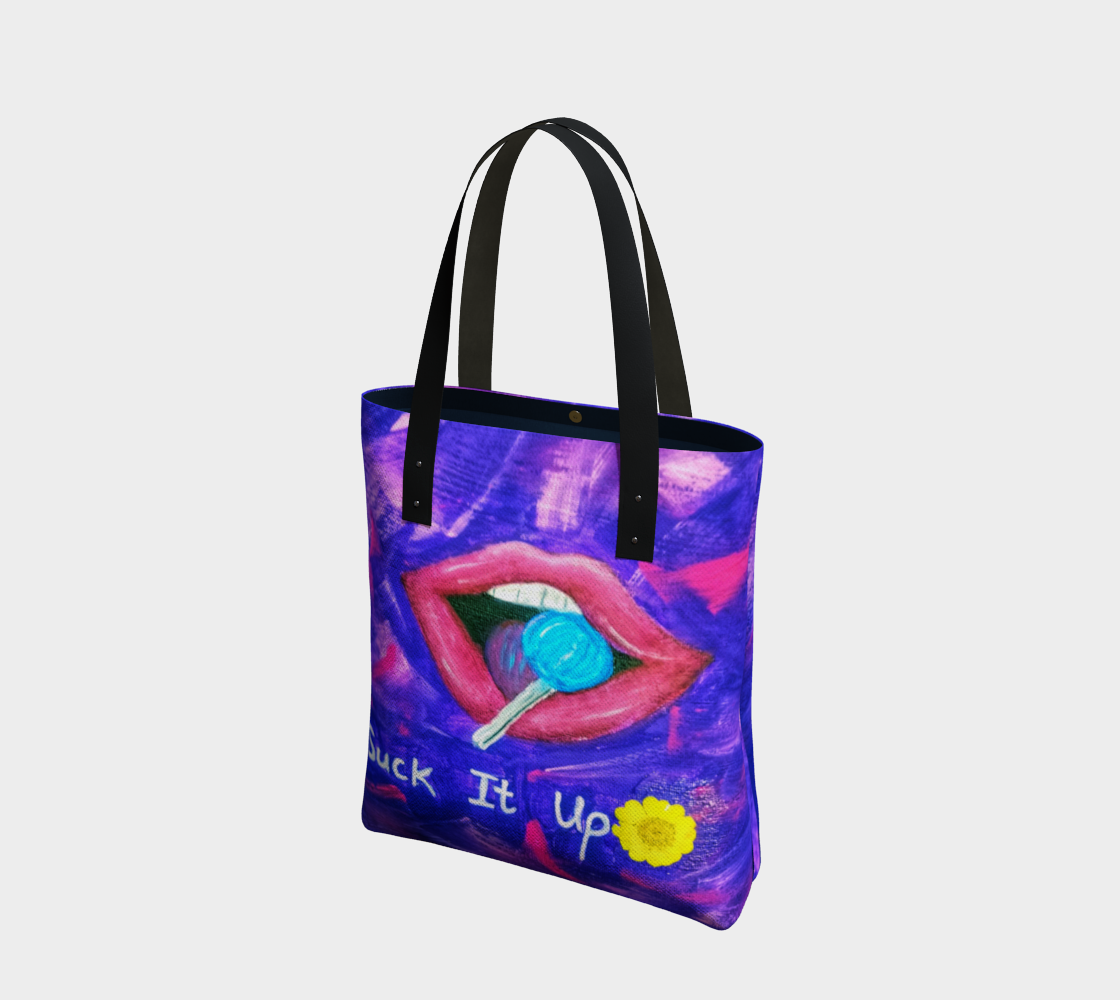 Suck it up tote bag preview