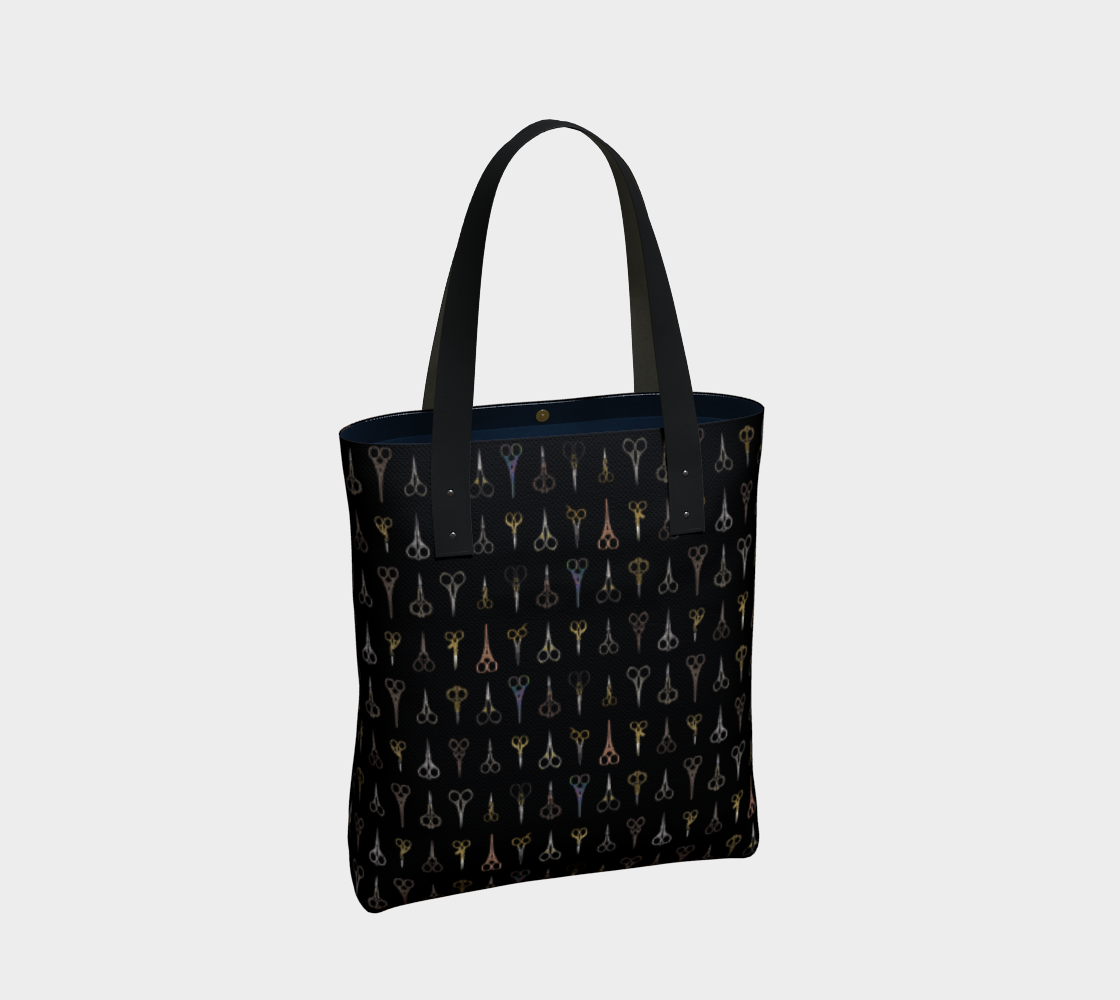 Fancy Scissors Stylish Tote preview #2