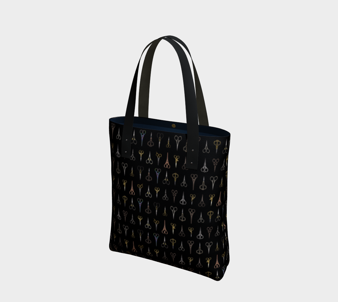 Fancy Scissors Stylish Tote preview