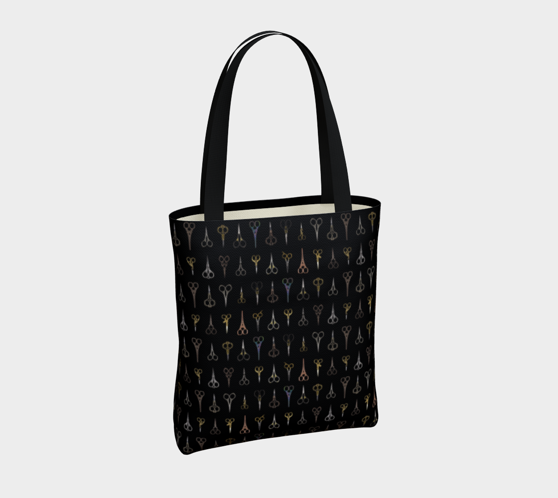 Fancy Scissors Stylish Tote preview #4