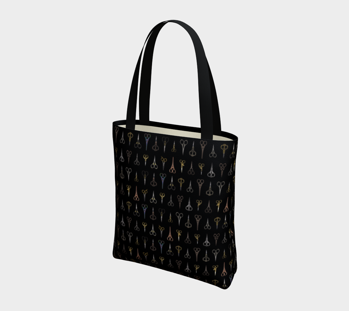 Fancy Scissors Stylish Tote preview #3