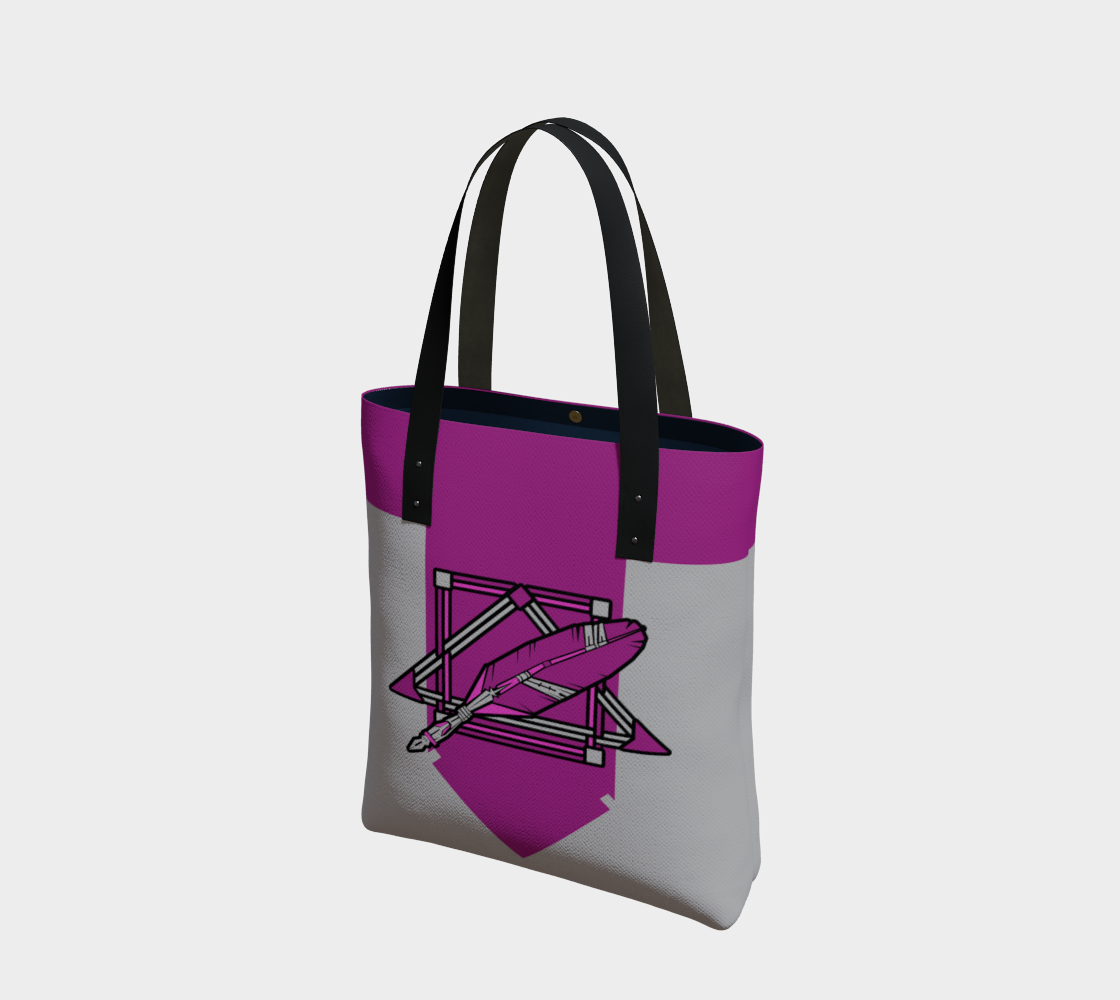 Scribe-Feathers Logo Tote preview
