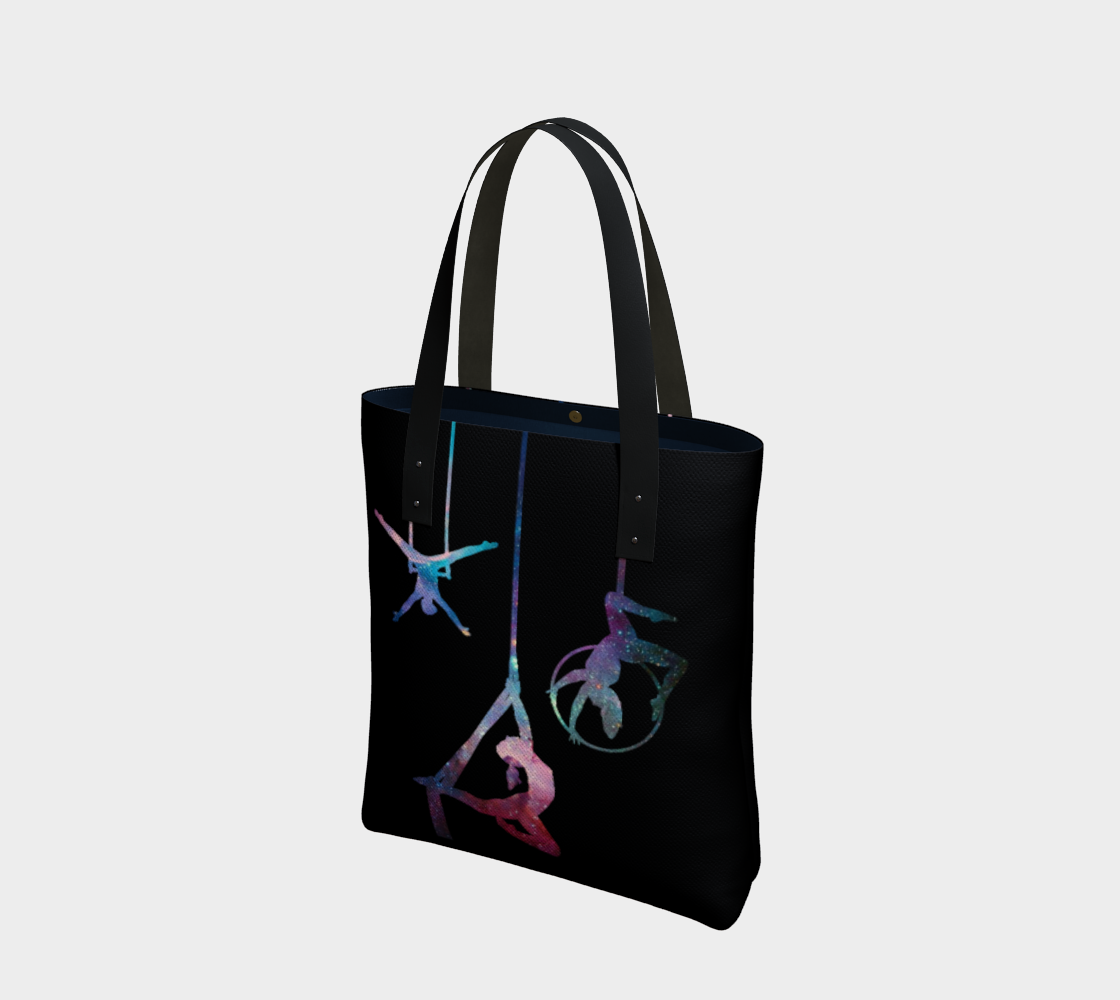 Aerial Stars Cotton Tote Bag AOW preview