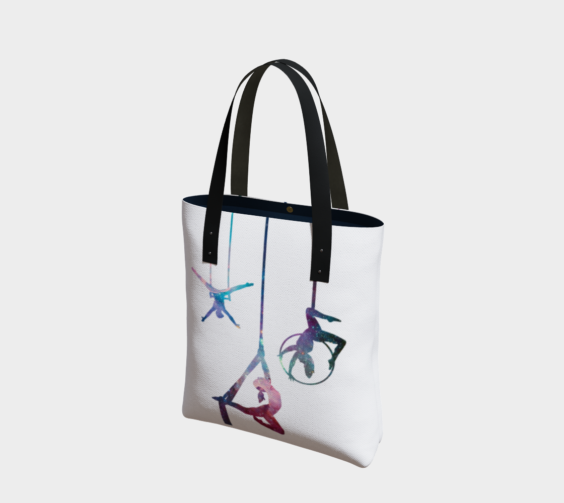 Aerial Stars on Natural Cotton Tote Bag AOW preview