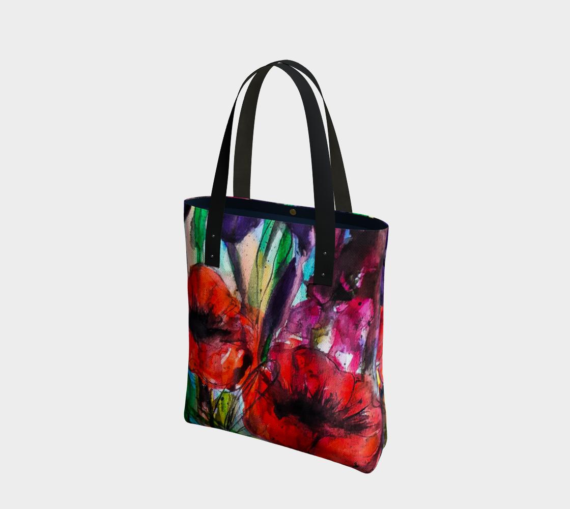 Aperçu de Vibrant Garden Tote Bag